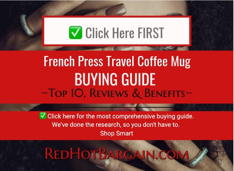 French Press Travel Coffee Mug