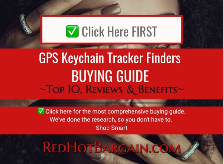 Top 10 Best GPS Keychain Tracker Finders Reviews