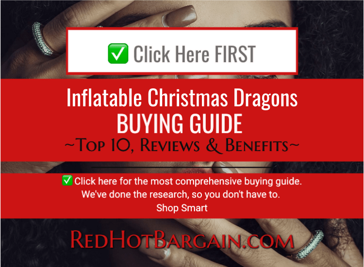 Inflatable Christmas Dragons