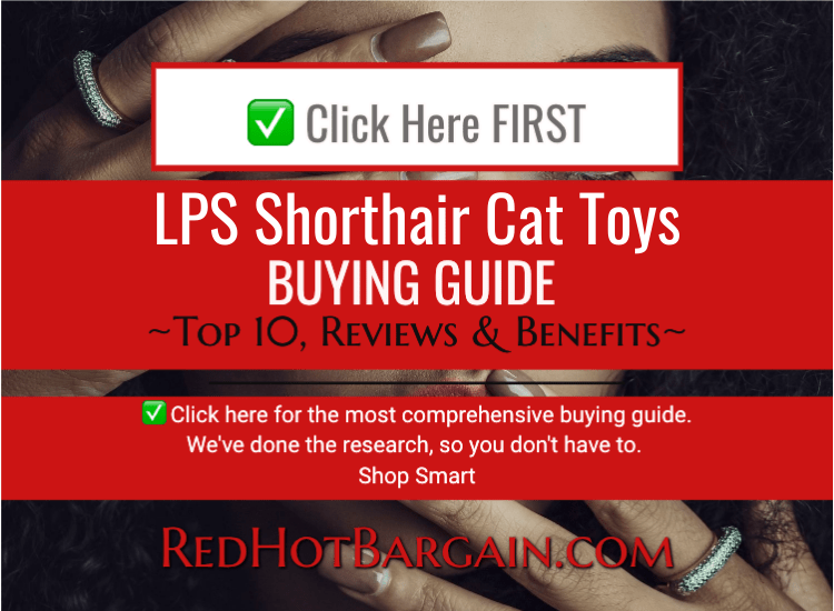 LPS shorthair cat toys