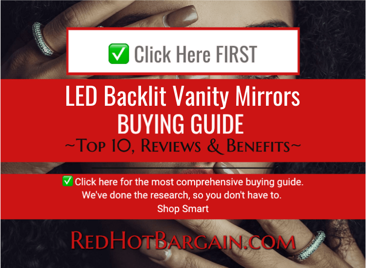 best LED backlit vanity mirrors