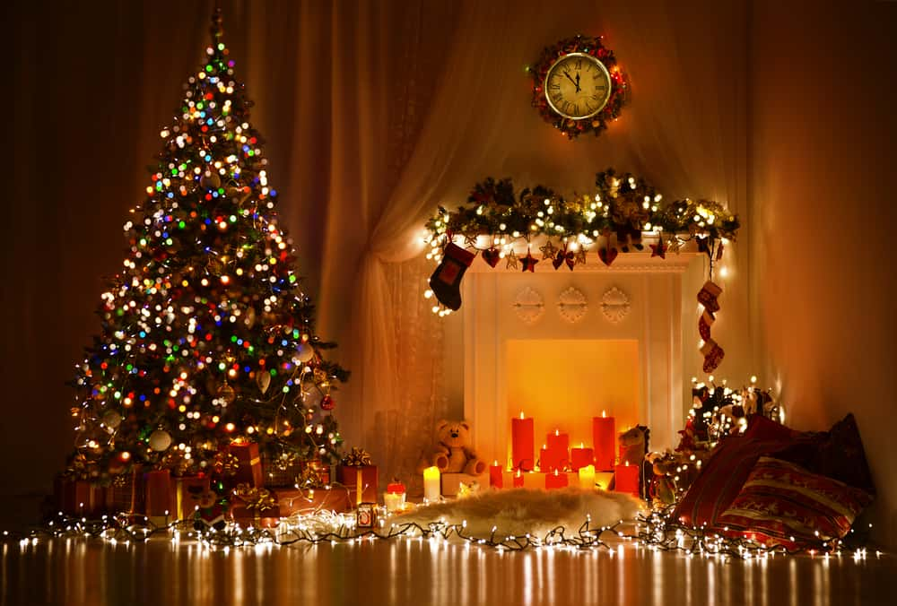 Is it safe to add lights to a pre-lit Christmas tree