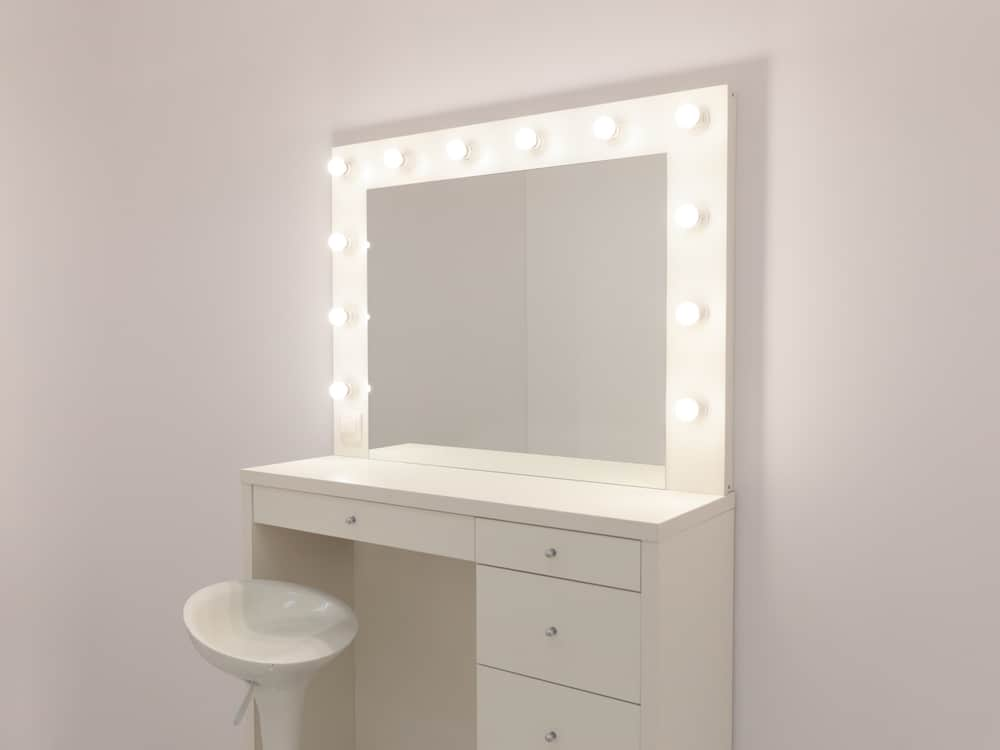 What is the best lighting for a vanity mirror