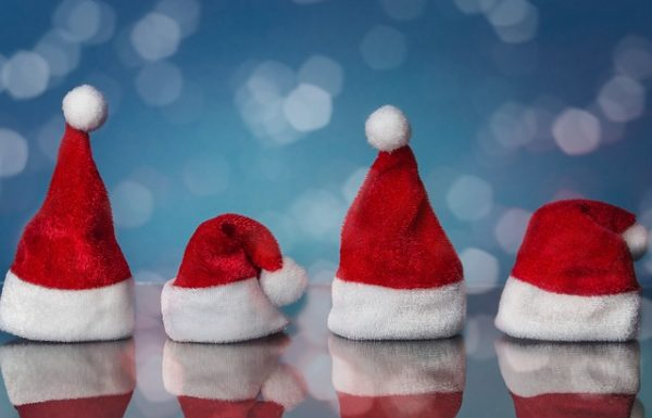 Santa Claus Christmas Hats with Fun and Unique Designs